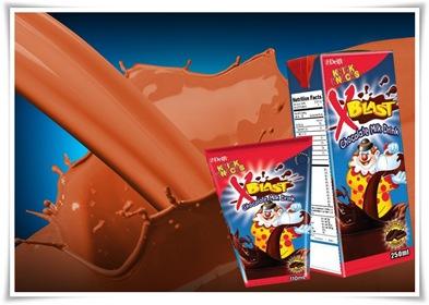 Chocolatey Goodness by Knick Knacks X-Blast Chocolate Milk Drink